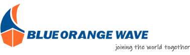 Blue Orange Wave